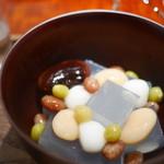茶菓円山 - 福蜜豆