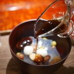茶菓円山 - 福蜜豆(黒蜜)