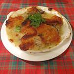 ビストロ・ダルブル - 牡蠣とキノコのガーリックバター焼き