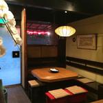 いけ田 - 雰囲気あふれる「いろり」を囲んでお食事はいかがですか?