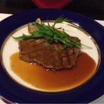 43356700 - 牛ロース肉のグリエ〜( ´ ▽. ` )ノ