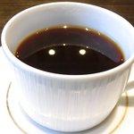 43358937 - ヤマトポークの卵とじ 1000円 のコーヒー