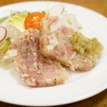 神谷バー - 2015.10 豚肉の塩漬け(610円)
