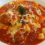 洋食厨房 Country House - 半熟玉子シーフードチリトマトソース・オムライス