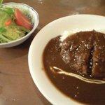 洋食 赤ちゃん - ビーフカツカレー