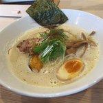 三代目ユタカ - 濃厚 鶏Soba 750円(第一回投稿分③)