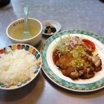 まりも - 料理写真:油淋鶏定食680円