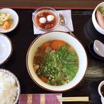 すっぽん館 - 料理写真:すっぽん定食(¥1,750)