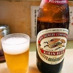 淡水軒 - ビール