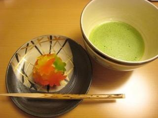 二條若狭屋 寺町店 - 季節の和菓子とお茶のセット