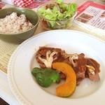 リロンデル - 日替りカフェごはん 鹿肉ステーキ
