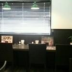 食堂カフェ COCO家 - 落ち着く店内( ☆∀☆)