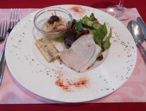 クラブコントラーダ - ランチ アマルフィコース:前菜盛合せ