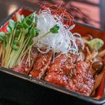 飛騨牛しげむら - 飛騨牛ステーキ丼☆