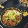 御食事処 多津美 - 料理写真:モツ丼が絶品でした!