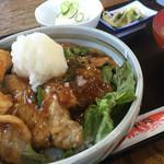 川ふじ - 料理写真:おろし焼肉丼(1,200円)★★★★☆