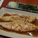 酉や 喜兵衛 - さつま知覧鶏 しぎ焼き540円