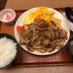 ぶたたま食堂 - とんちゃん焼き大盛り