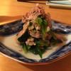 瀧ざわ ~円居~ - 料理写真:H27.10.16 浅利と小松菜の煮びたし