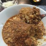 ラヴィリンス - 飲料麻婆豆腐丼