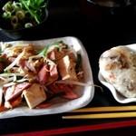 南ぬ風 - 日替わりlunchの豆腐チャンプルー