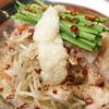 波留乃屋 - 料理写真:国産牛と国産豚のWもつ鍋です。