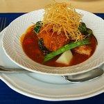 kaferesutorankihada - 豚バラ肉のトマト煮