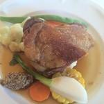 ふらんす料理 平野 - 鴨肉のコンフィ