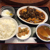 安源楼 - 料理写真:イカの四川風辛子香り炒め定食 イカの他にキクラゲが満載 ソースはとても酸っぱ辛かったです