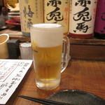 焼もん居酒屋 炭べえ - 生ビール」