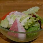 ポムの樹 - ランチ付属のサラダ