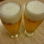 プチもんど - ドリンク写真:生ビール。(グラス)