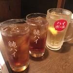 すたんどばぁー 楽 - ☆ウーロン茶2杯とハイボール(●^o^●)☆
