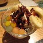 コーヒープリンス - 低脂肪バニラサンデー(S) 490円