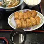 43386702 - H27.9 焼き餃子10個スープセット