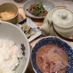 だし茶漬け えん - 宇和島産鯛出汁茶漬け 2015.10撮影