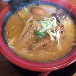 麺屋 華月 - 極味噌ラーメン by平成の聖闘士星矢