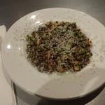 アワーズ - レンズ豆のサラダ:730円