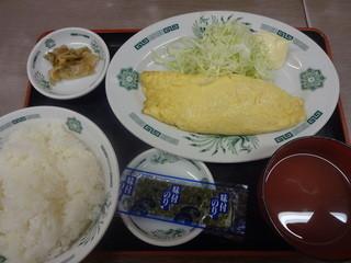 来来軒 大宮南銀座店 - 玉子焼き定食:400円