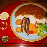珈琲 カンタータ - 「夏野菜カレー」500円