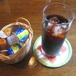 珈琲 カンタータ - 「アイスコーヒー」350円