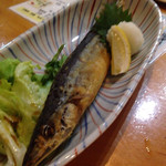 一位 - 揚げ秋刀魚、むっちり美味い。