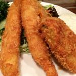 キッチン チェック - 海老フライと牡蠣フライ