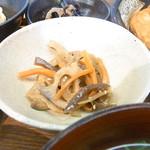 夢乃蕎麦 - きんぴら☆♪