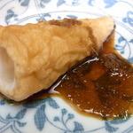 夢乃蕎麦 - おでん自体は薄味 生姜醤油で頂きます☆♪