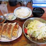 43395100 - 餃子&そば焼(小)&御飯(大)