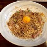 麺座 かたぶつ - 【限定】カルニボナーラ