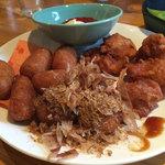 つぼ八 - 唐揚げ たこ焼き ウインナフライ