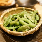 俺の魚を食ってみろ!! - 2015.10 枝豆(380円)