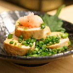 俺の魚を食ってみろ!! - 2015.10 あん肝ポン酢(600円)